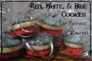Red, White & Blue Cookies