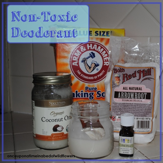 Non-toxic deodorant (that really works!) by onceuponatimeinabedofwildflowers